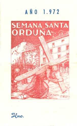 Portada Programa Año 1972