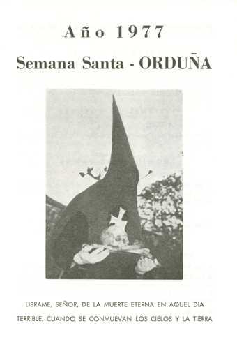 Portada Programa Año 1977