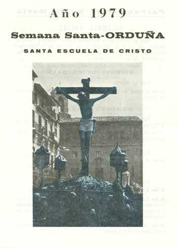 Portada Programa Año 1979