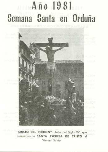 Portada Programa Año 1981