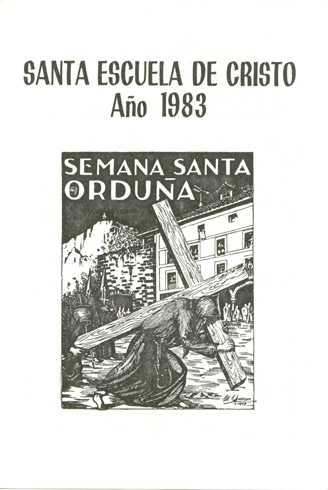 Portada Programa Año 1983
