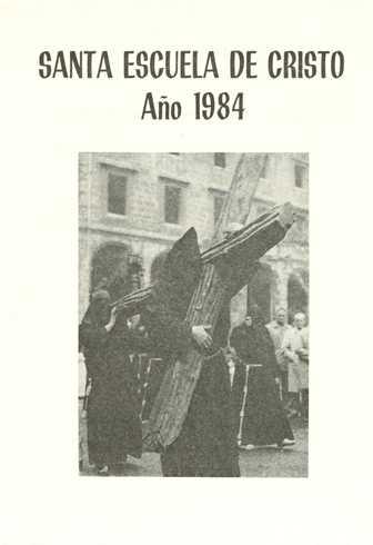 Portada Programa Año 1984