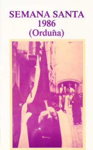 Portada Programa Año 1986
