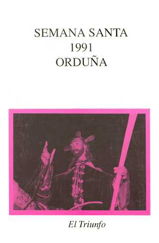 Portada Programa Año 1991
