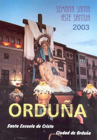 Portada Programa Año 2003