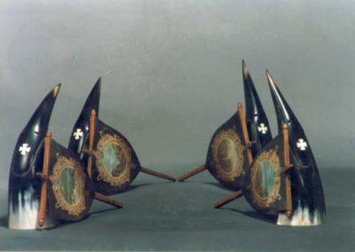 Elementoak – Lurra-Ura-Sua-Airea / Eskuz egindako miniaturak