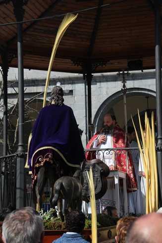Erramu-igandea – Palmondo bedeinkazioa eta Prozesioa