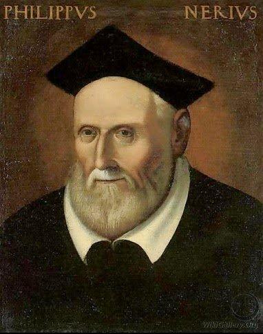 Festividad San Felipe Neri. Patrono de la Santa Escuela de Cristo.